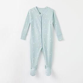 happy dream organic sleeper, 9-12m - light blue
