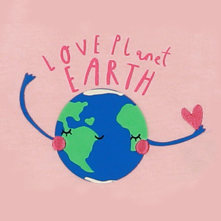 Earth by Art & Eden - Combinaison en molleton Maya - Rose, 18 mois