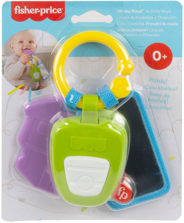 Fisher-Price Hit the Road Activity Keys - English Edition