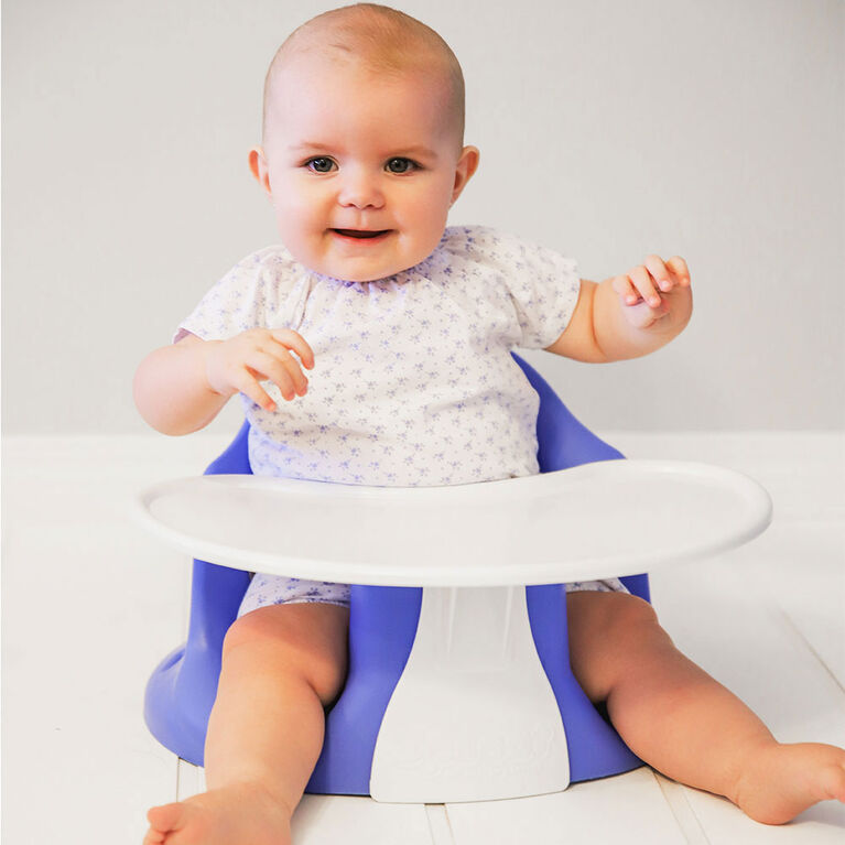 Upseat Floor & Booster Seat - Skys The Limit Blue