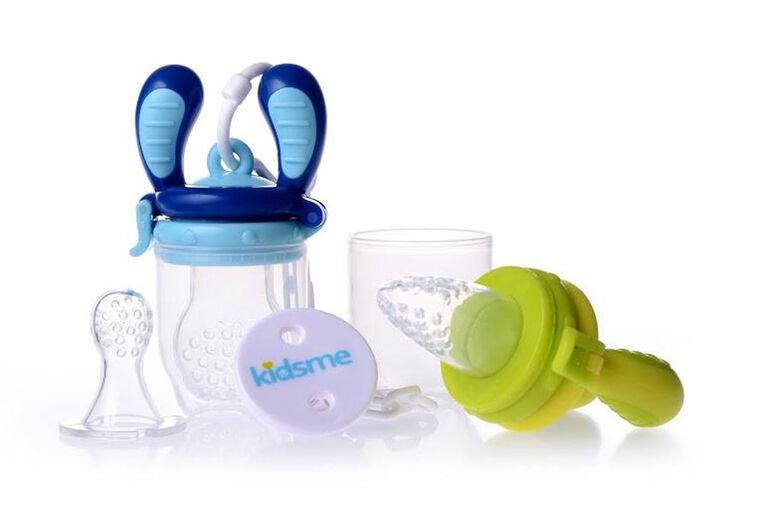 Kidsme ensemble de démarrage de tétine de nutrition Lime - Aqua.