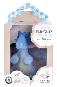 Tikiri Rubber Dragon Rattle with Crinkle Wings