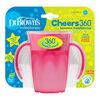 Dr. Brown's Milestones Cheers360 7 oz cup pink