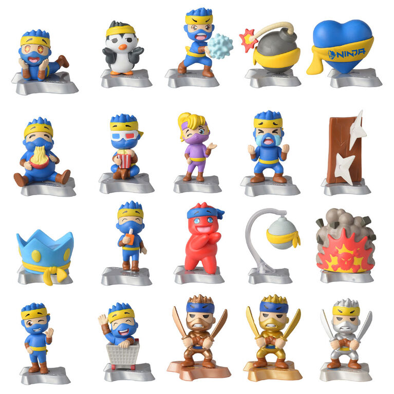 "Ninja 2"" Collectible Figures & Emotes"