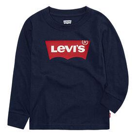 Levis Tee - Navy, 24 months