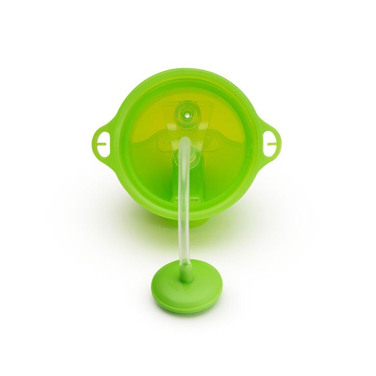 Munchkin- Any Angle Weighted Straw Cup - Green, 10 oz