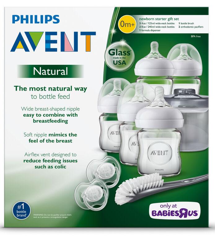 Ensemble de démarrage pour nouveau-nés, biberon naturel Philips Avent - Notre exclusivité