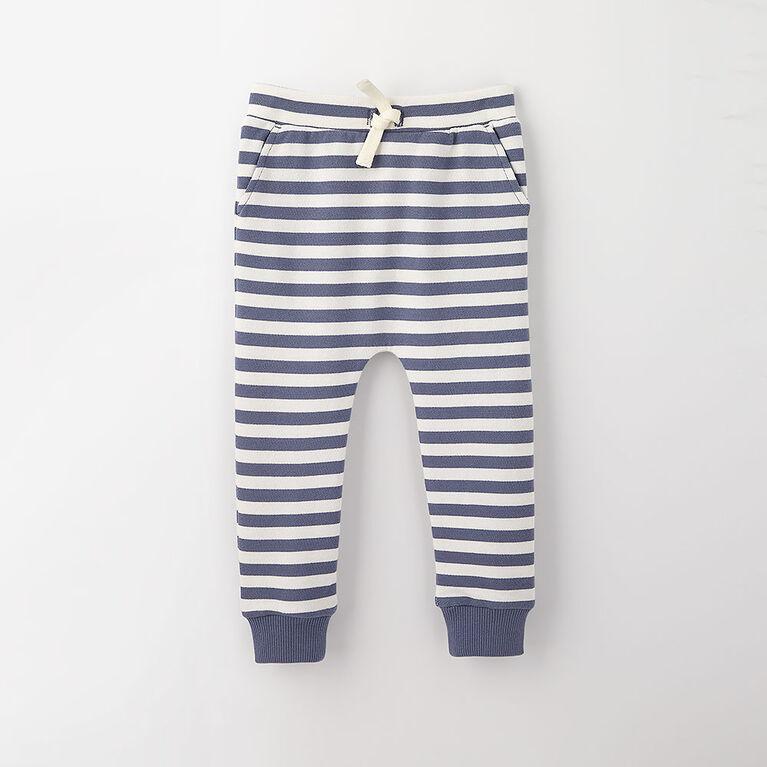 drop-crotch cozy sweats, 18-24m - light blue