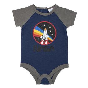 NASA Bodysuit Blue 6M