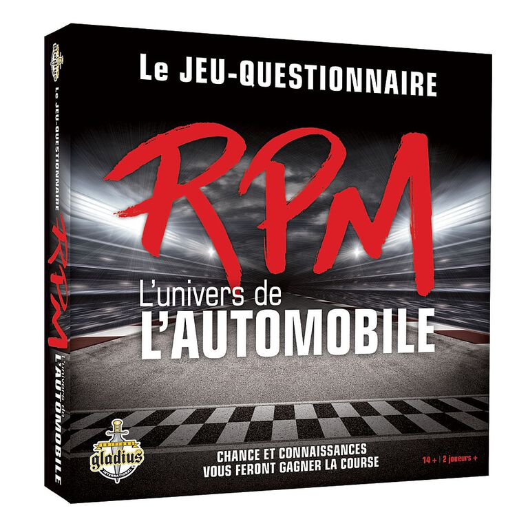Jeu RPM L'univers de l'automobile.