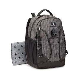 Jeep Adventurers Backpack Diaper Bag - Diamond Grey