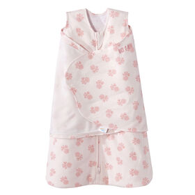 HALO SleepSack Swaddle - Cotton - Blush Rose - Newborn