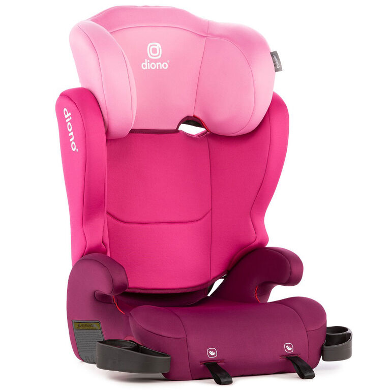 Siège d'appoint avec dossier Cambria 2 - Pink Diono.