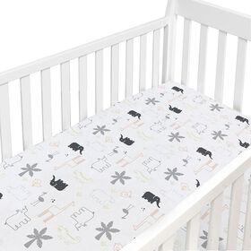 Dream Crib Sheet - Multi Jungle