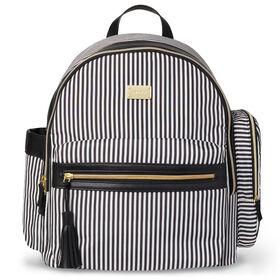 Sac à dos à langer Carter's pour un usage quotidien – Black Stripe