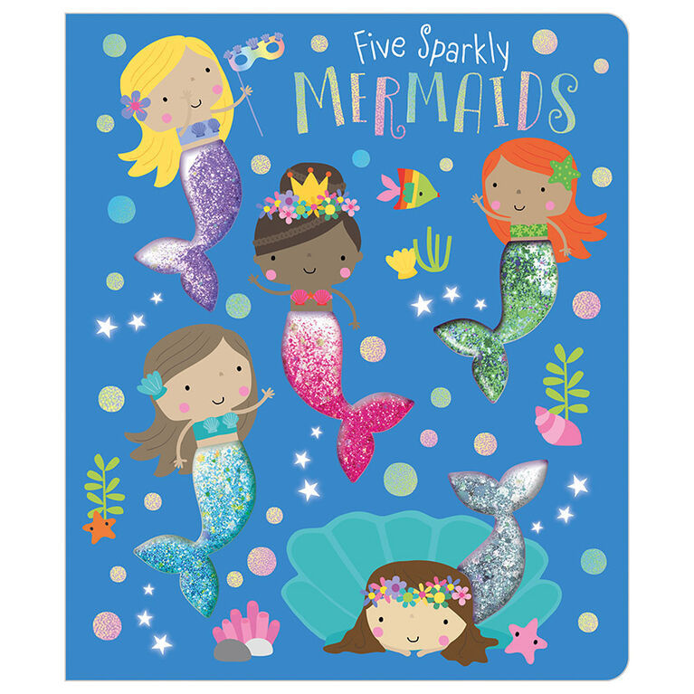 Five Sparkly Mermaids - English Edition