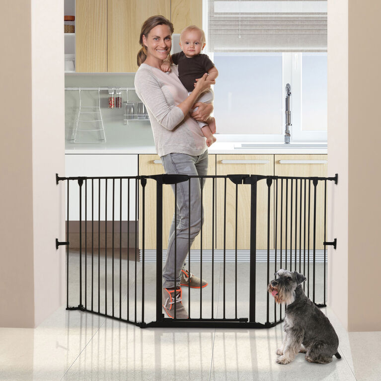 Dreambaby Newport Adapta-Gate - Black