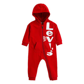 Levis Coverall - Red, 6 Months