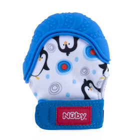 Nuby Happy Hands Teething Mitten - Penguin