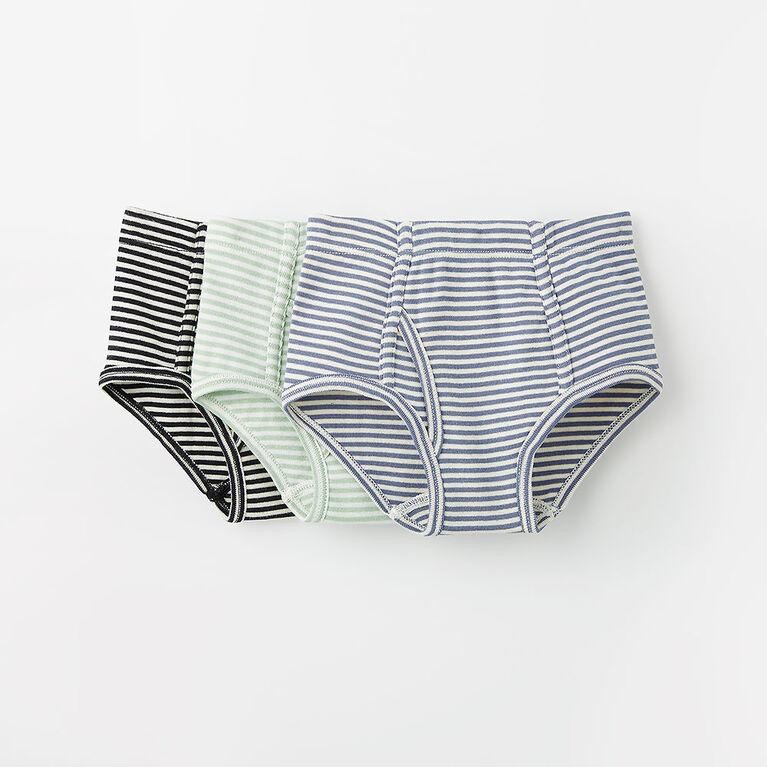 simple cotton briefs, 3-4y - lt. blue