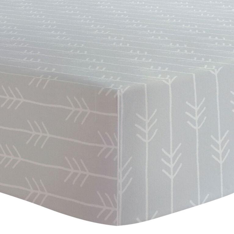 Kushies - Change Pad Cover - Grey Arrows
