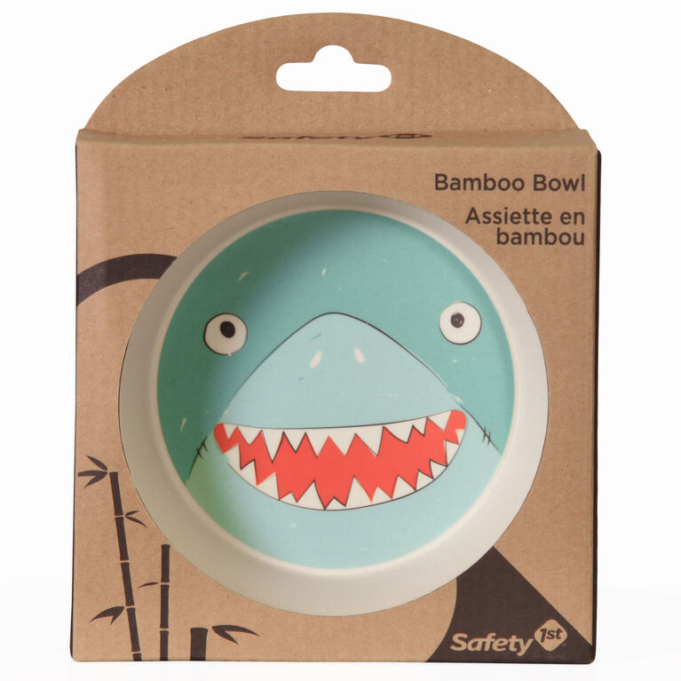 Bol en bambou Requin de Safety 1st.