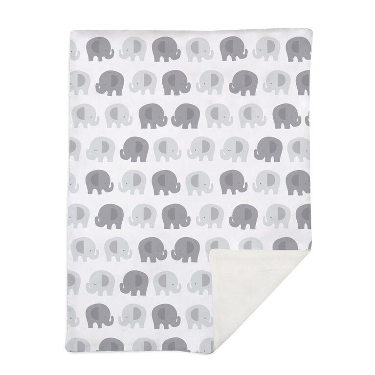 Lolli by Lolli Living Couverture de Bébé - Bailey Elephant