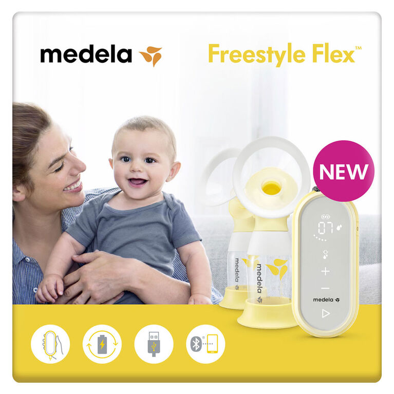 Medela Freestyle Flex 2-Phase Double Electric Breast Pump ...