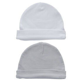 Koala Baby 2-Pack Hat Set - Grey