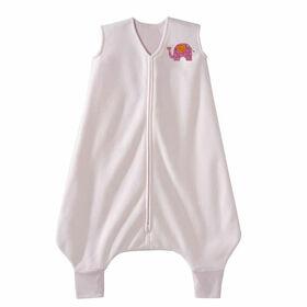 HALO SleepSack Big Kids Micro-Fleece - Pink Elephant - 2/3T