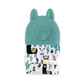 Gant de dentition Teething Happens d'Itzy Ritzy - Llama
