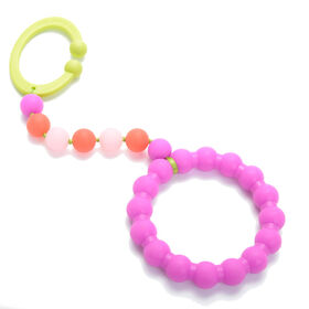 Chewbeads Stroller Toy - Pink