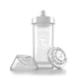 Twistshake Kid Cup 360ML 12+M - White