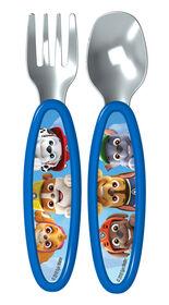 Playtex Paw Patrol Fork & Spoon Cutlery Set - Blue