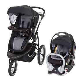 Baby Trend - Système de voyage de jogging Turnstyle Snap Tech - Gravity - Notre exclusivité