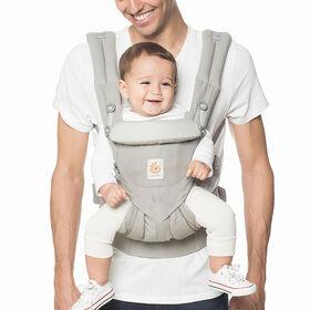 Porte-bébé ergonomique tout-en-un Ergobaby Omni 360 - gris perle.