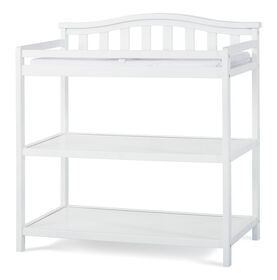 Child Craft Wilmington-Camden Changing Table, Matte White