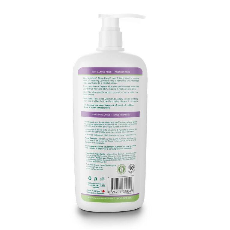 Aleva Naturals Nettoyant pour bain du soir - 240 ml.