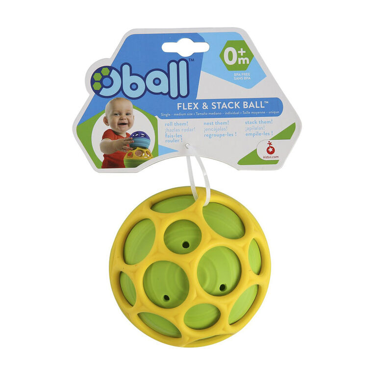 Oball Flex & Stack Balls Single Medium Size