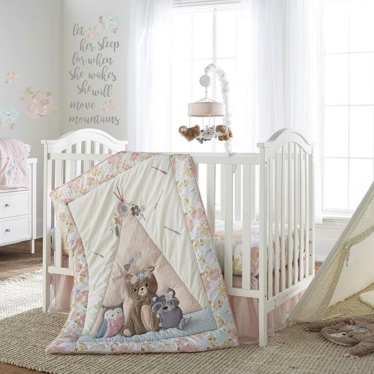 Levtex Baby - Malia 4Pc Bedding Set - Édition anglaise
