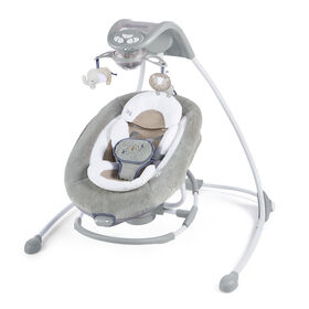 Ingenuity DreamComfort InLighten Cradling Swing & Rocker - Townsend