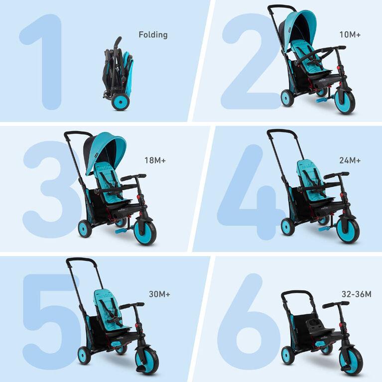 smarTrike STR3 - tricycle pliant bébé - bleue