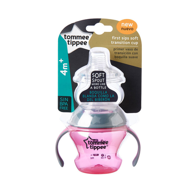 Tommee Tippee First Sips Soft Transition Cup - Blue