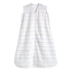Halo Sleepsack - Micro-Fleece - Multi Stripe - Grey - Large