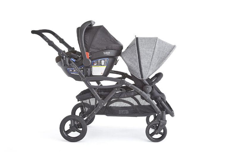 Contours Britax V2 Infant Cs Adapter Black