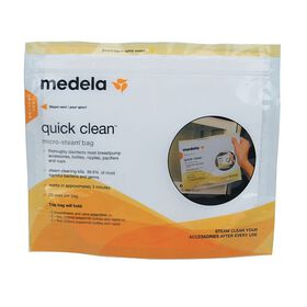 Sacs Quick Clean Micro-Steam Medela.