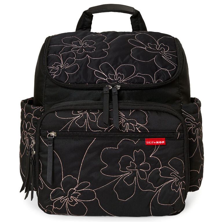 Skip Hop - Sac à dos à langer Forma - Matelassé fleurs