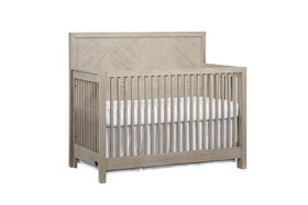 Oxford Baby Manhattan 4 in 1 Convertible Crib Champagne Mist - R Exclusive