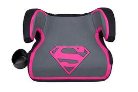 KidsEmbrace Ultra Backless Booster Car Seat - DC Comics Supergirl
