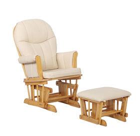 Lennox Furniture Blake Planeur et Pouf - Blé